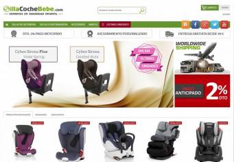 Tienda sillas bebe Prestashop