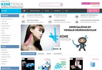 Migración prestashop tienda Vendaje Neuromuscular- Kinetienda